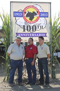 Cousins Phillip, Ken & Ben celebrate 100 years in the family business.